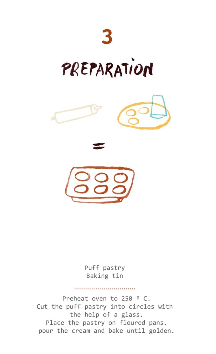Pastéis de Belém's recipe (Magazine illustration) 2