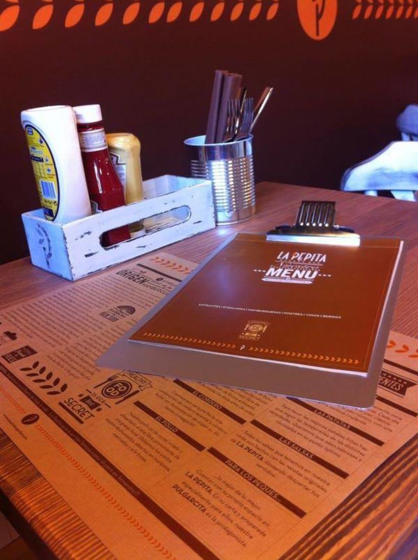 Cartas de Madera de Restaurante 2