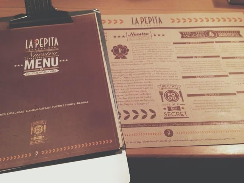 Cartas de Madera de Restaurante 6