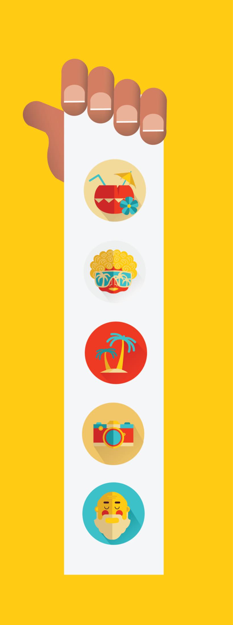Beach Icon Set -1