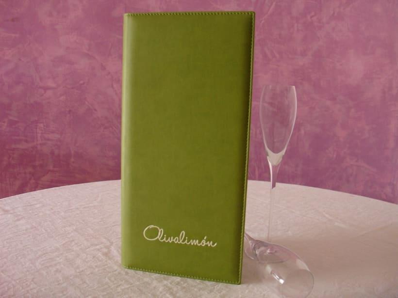 Carta de Polipiel de Restaurante Oliva Limón -1