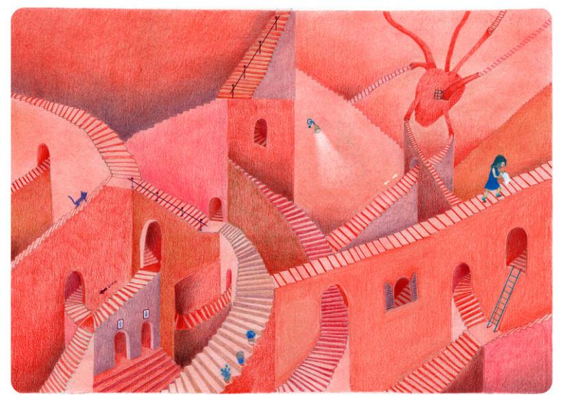 Les fenêtres magiques (Children's illustration) 4