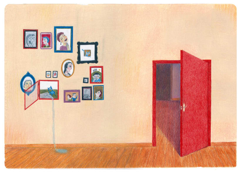Les fenêtres magiques (Children's illustration) 3