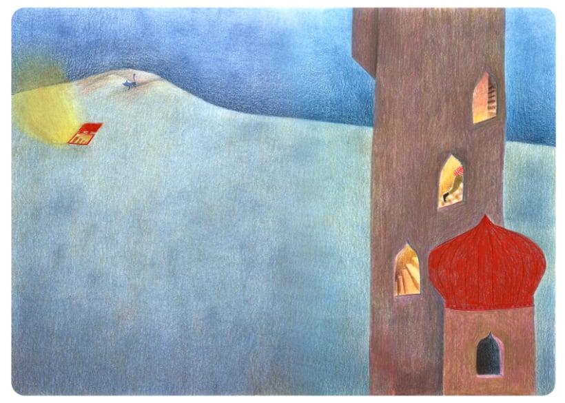 Les fenêtres magiques (Children's illustration) 2