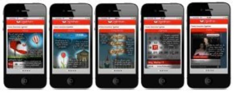 2gether app : Ganadora del Startup weekend 2012 y el VII Campus de SeedRocket.  Proyecto de app para móvil que ha conseguido varios premios y reconocimientos. 0