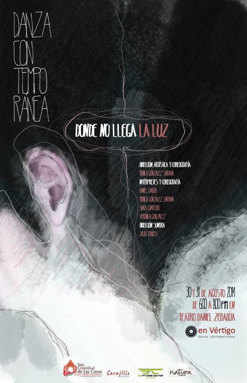 DONDE NO LLEGA LA LUZ | DANZA CONTEMPORANEA 0