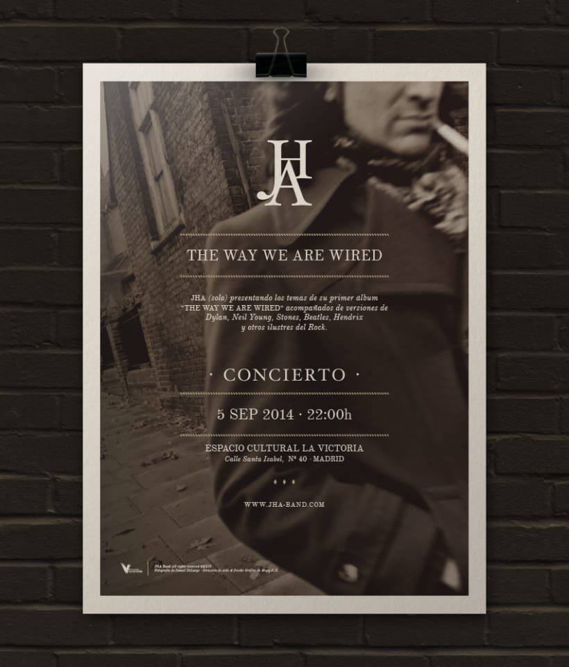 JHA · LIVE! · Poster & Flyer Design 0