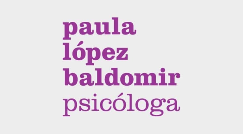 Paula. Psicóloga. 2