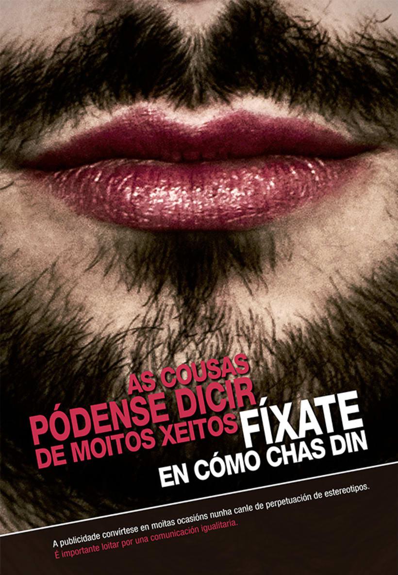Iguais, Publicidade Antisexista 0
