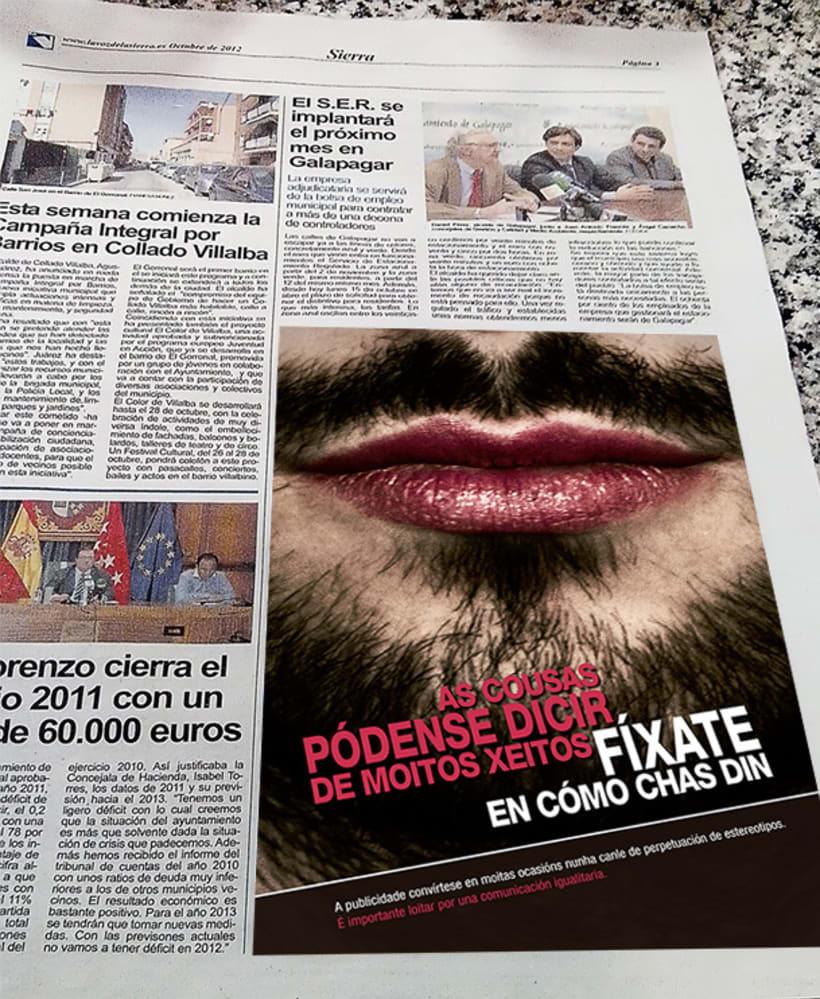 Iguais, Publicidade Antisexista 2