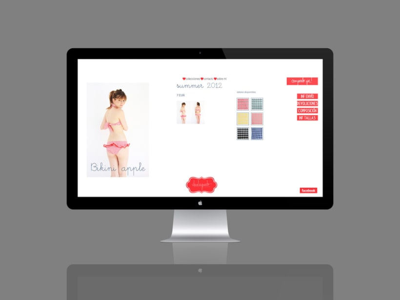 Diseño página web claudiaguado 13