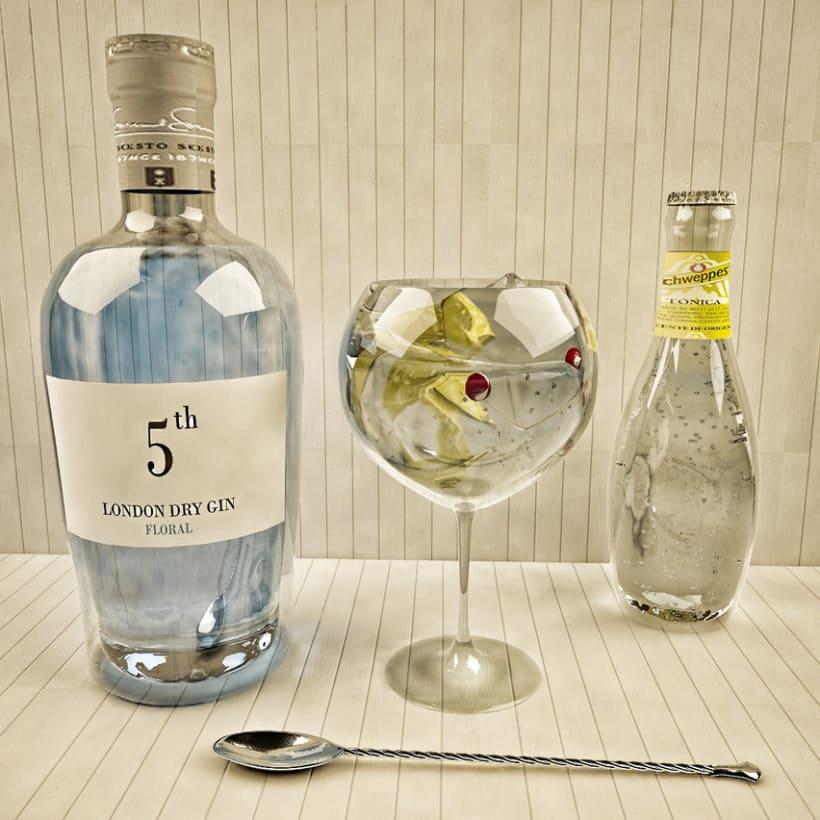 Comida  y Bebida 3D 6
