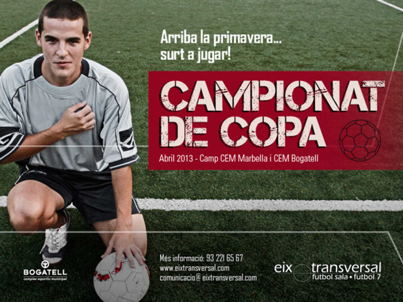 Diseño Gráfico - Futbol Eix Transversal  1