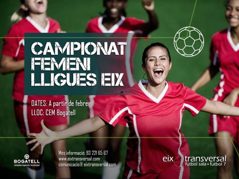 Diseño Gráfico - Futbol Eix Transversal  3