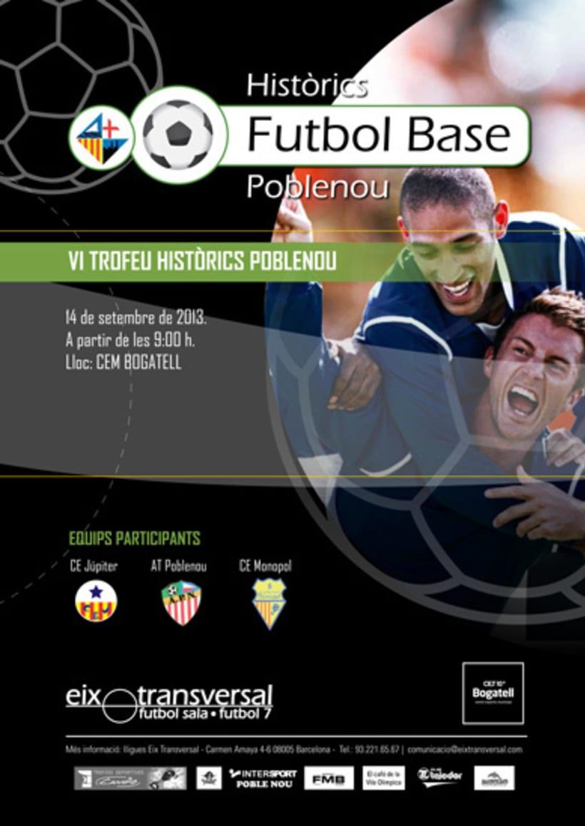 Diseño Gráfico - Futbol Eix Transversal  2