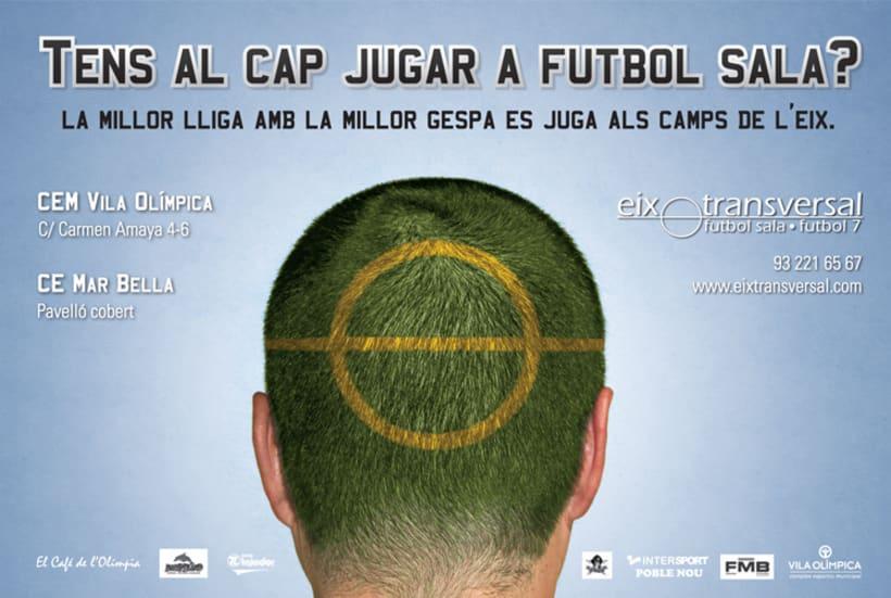 Diseño Gráfico - Futbol Eix Transversal  4