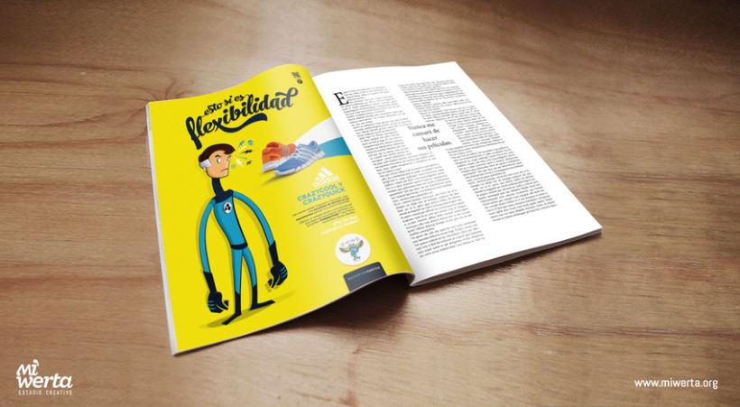 DEPORTES PERICO · Gráfica publicitaria 3