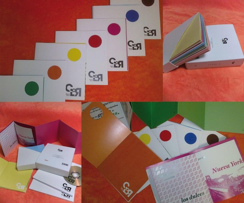 "Colección libros ""Diario de un color"" 1"
