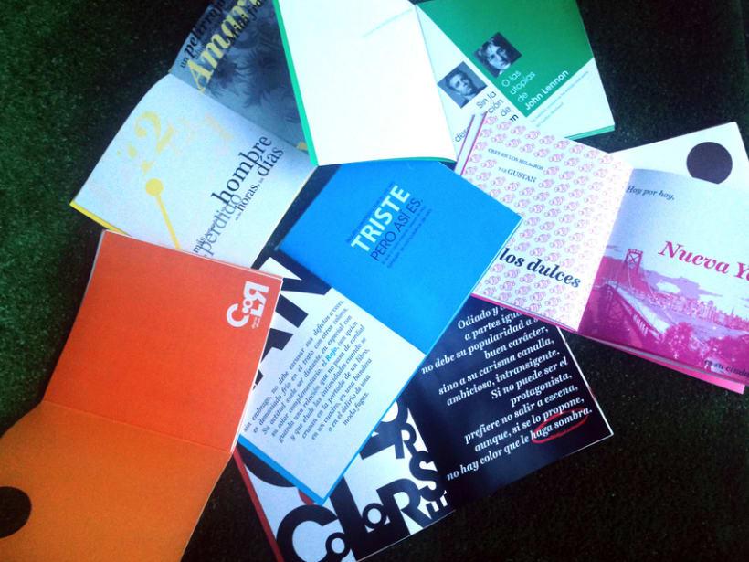 "Colección libros ""Diario de un color"" 2"