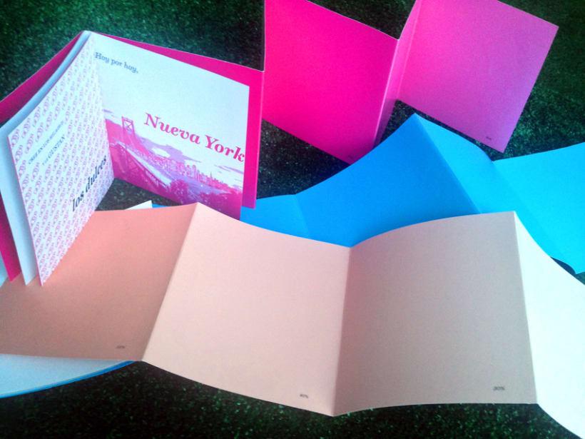 "Colección libros ""Diario de un color"" 4"