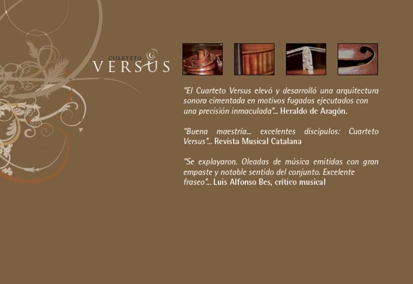 """Dossier de prensa """"cuarteto versus"""" 2"""