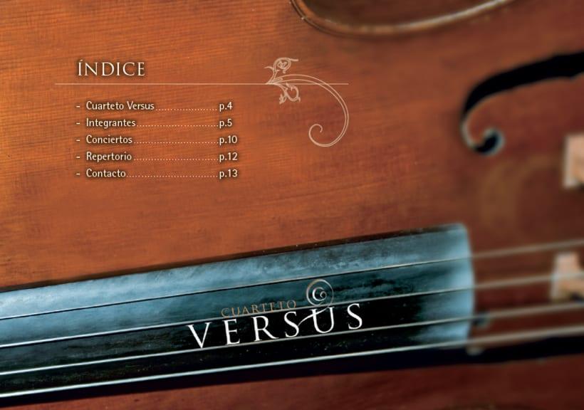 """Dossier de prensa """"cuarteto versus"""" 4"""