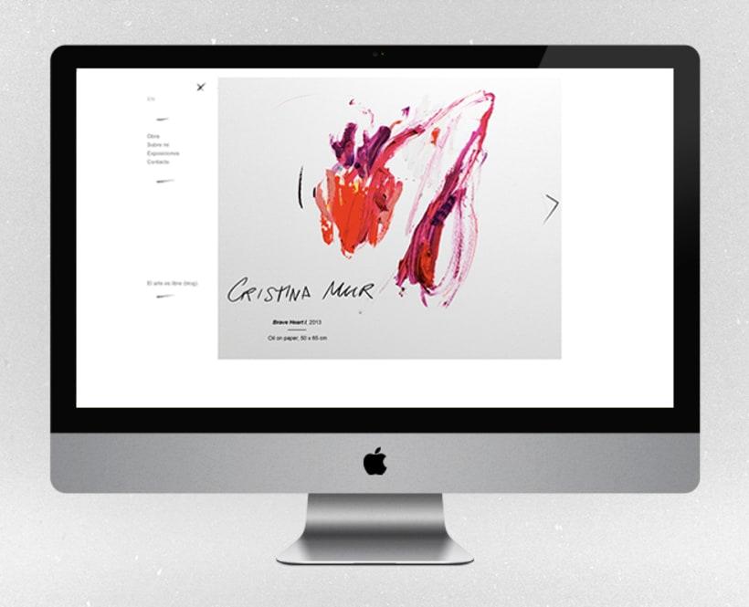 Fotografías para la web de la artista contemporánea Cristina Mur  0
