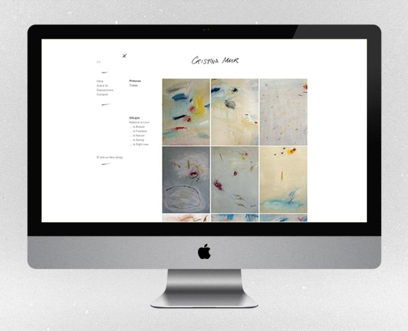 Fotografías para la web de la artista contemporánea Cristina Mur  3