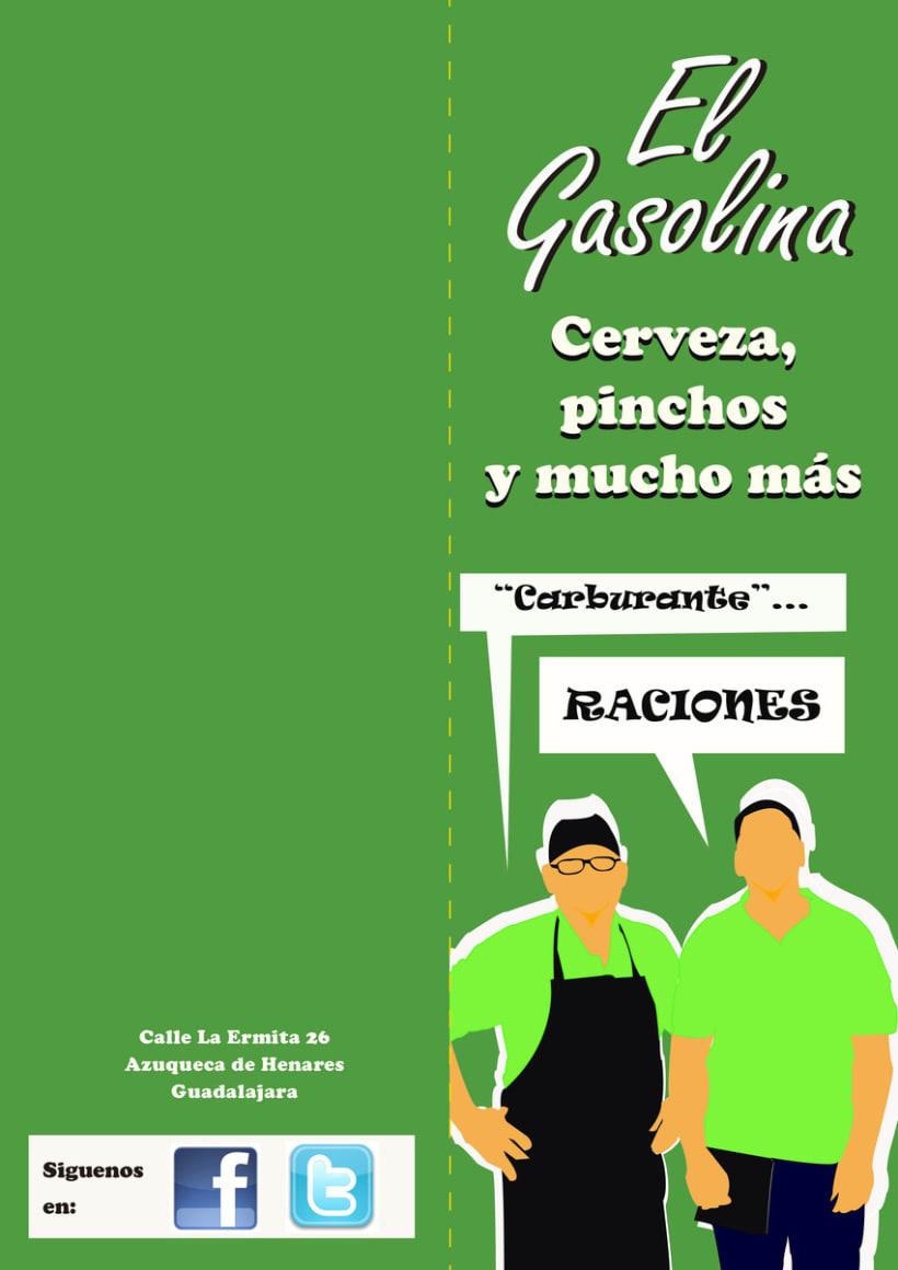 Carta de tapas para Cervecería El Gasolina -1