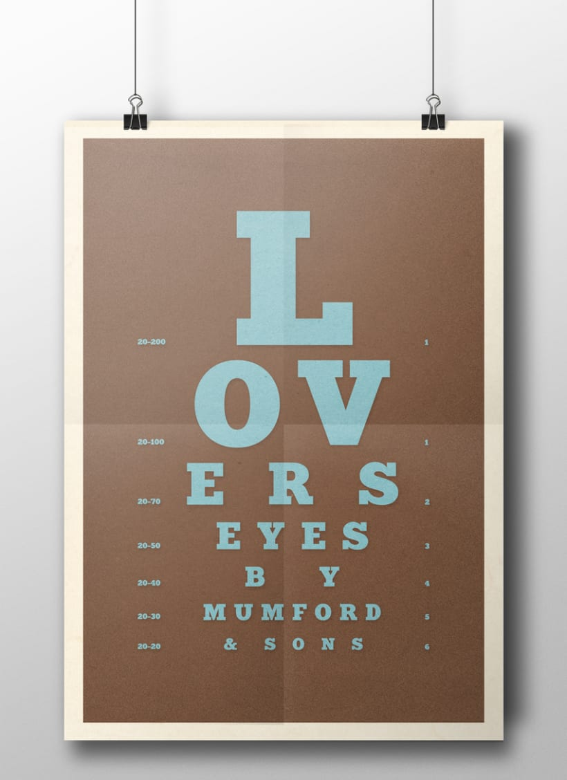 "Mumford & Sons ""Lover's Eyes"" 1"