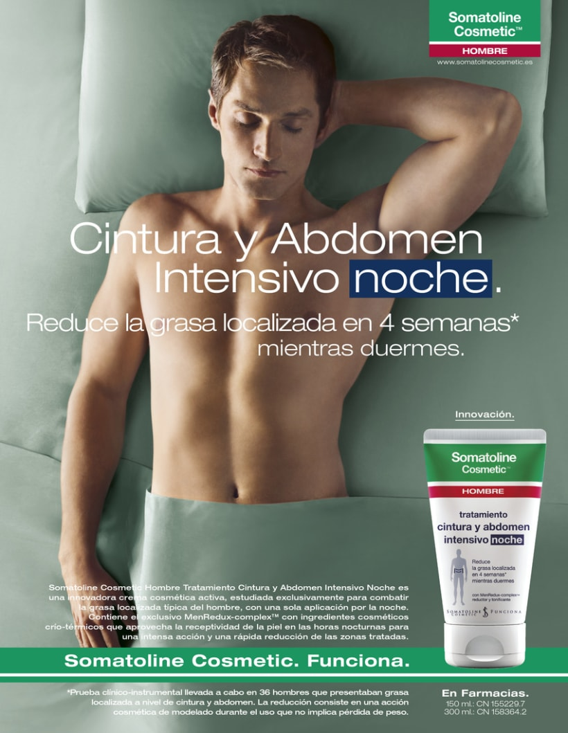 Gráficas Somatoline Cosmetic (Hombre). 0