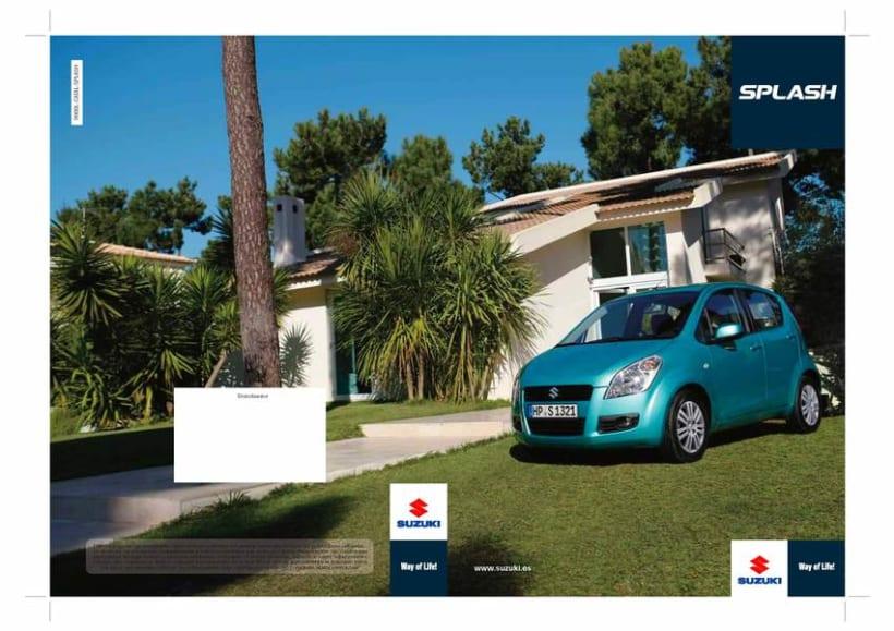 Catálogo Suzuki Splash. 0