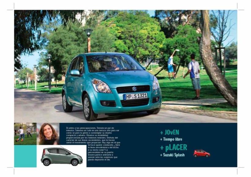 Catálogo Suzuki Splash. 1