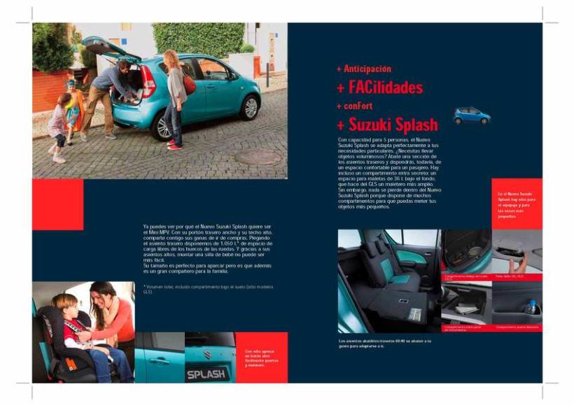 Catálogo Suzuki Splash. 2