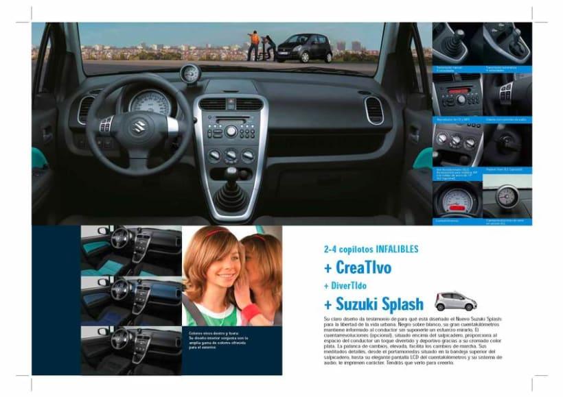 Catálogo Suzuki Splash. 3
