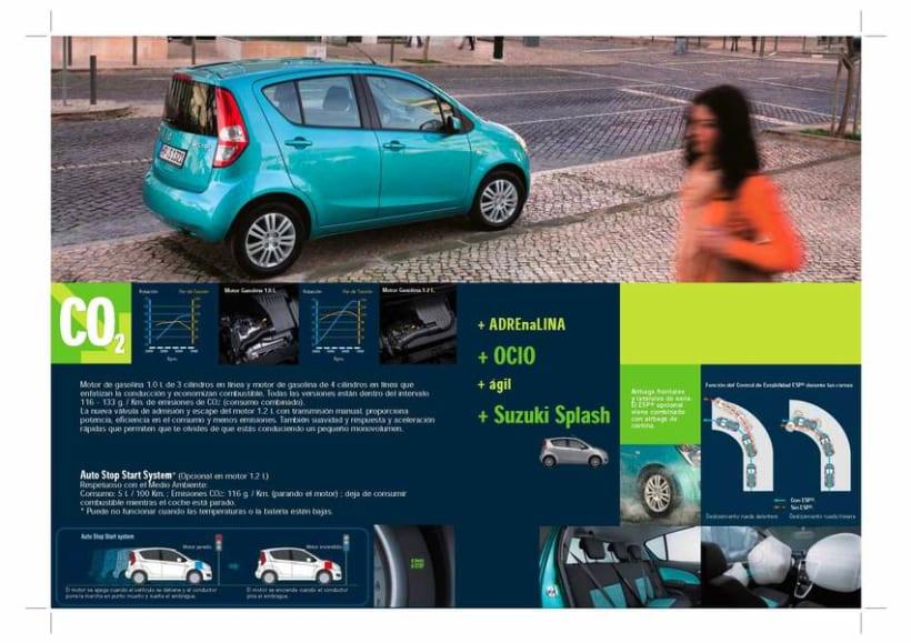 Catálogo Suzuki Splash. 4