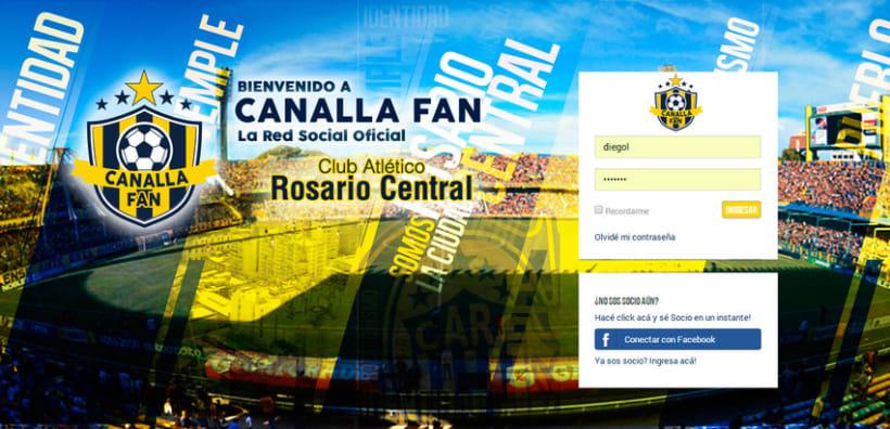 Canalla Fan | La nueva red Social Oficila de Rosario Central -1