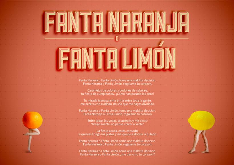 Canción Fanta Naranja o Fanta Limón. 0