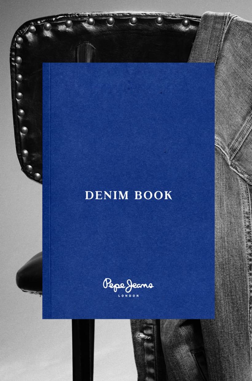 Pepe Jeans London Denim Book AW14 1