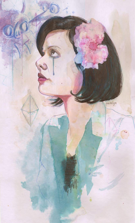 Retrato Natasha Khan (Bat for Lashes) 0