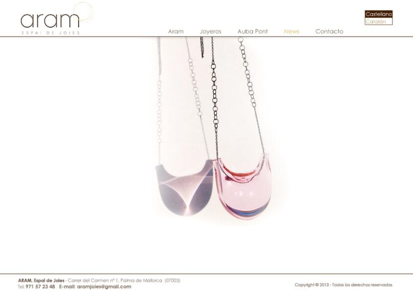"""Aram """"Pasión por la joyería"""" -1"""