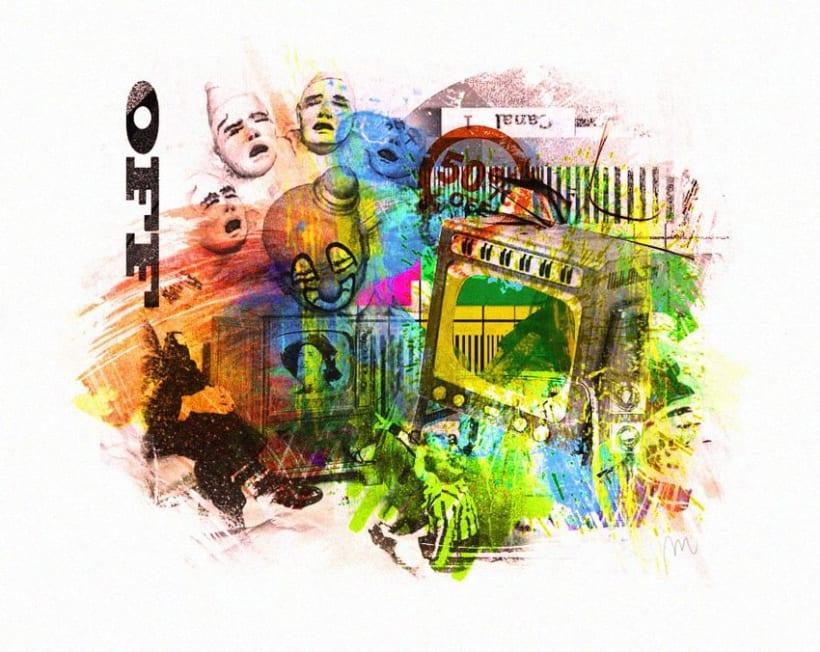 Varios diseños y collages. 28