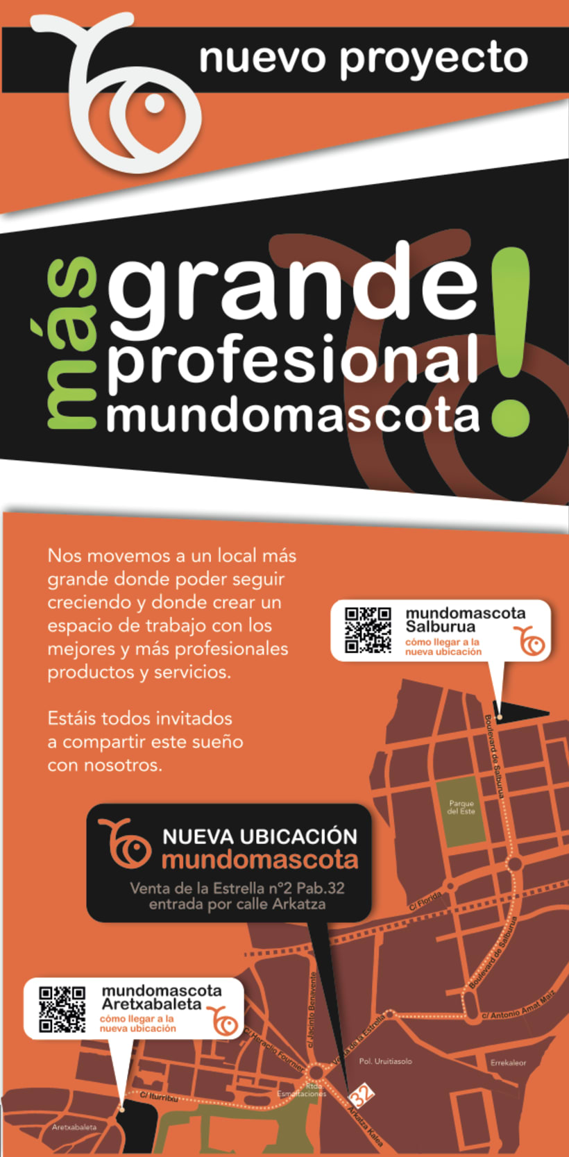 Diseño flyer para Mundomascota -1