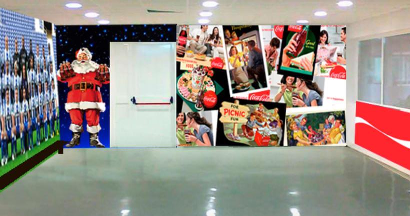 Fabrica de Coca Cola Portugal: Ilustración y Diseño de showroom y zonas 0