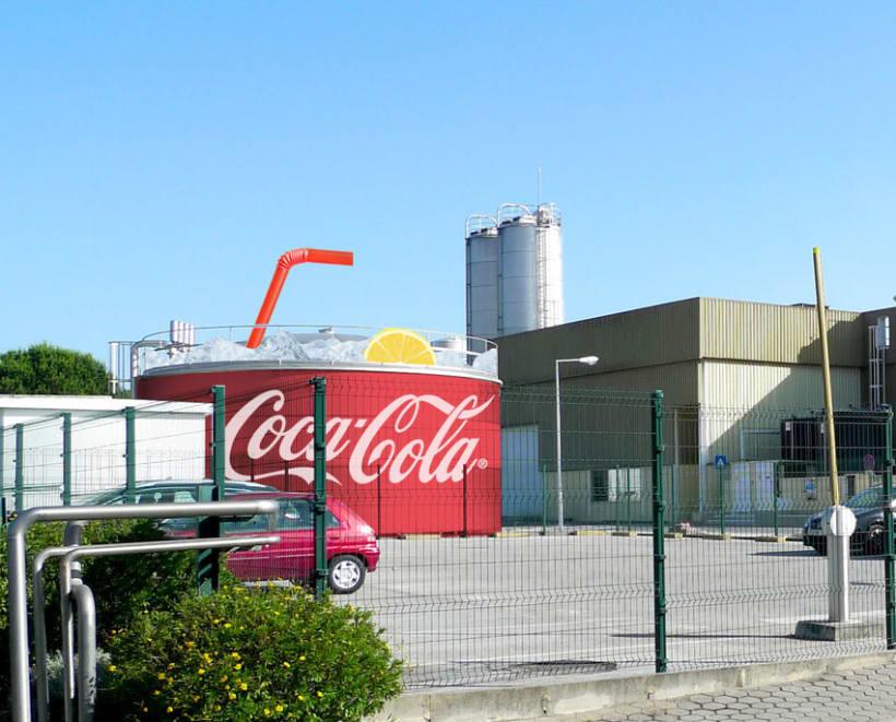 Fabrica de Coca Cola Portugal: Ilustración y Diseño de showroom y zonas 1