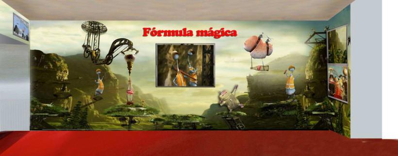 Fabrica de Coca Cola Portugal: Ilustración y Diseño de showroom y zonas 2