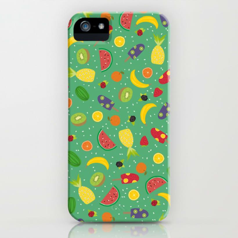 Pattern Frutal 4