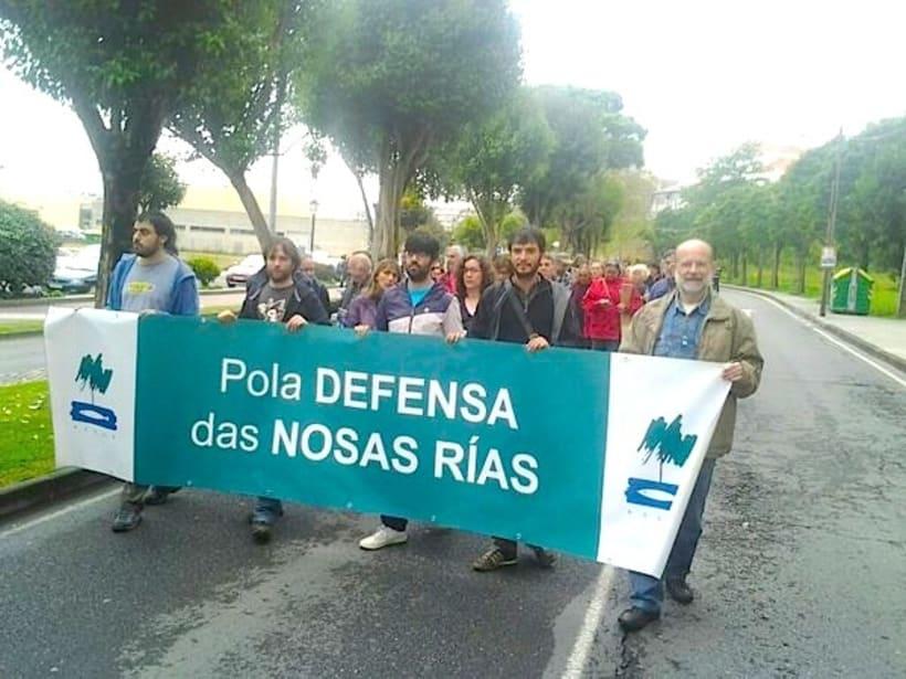 Marca para Asociación para defensa ecolóxica galega (ADEGA) 1987 1