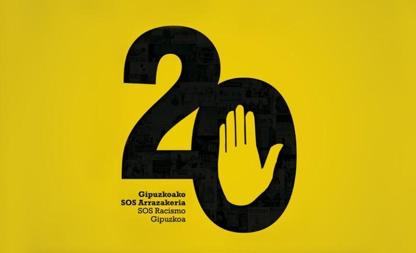 20 años SOS Racismo Gipuzkoa 0