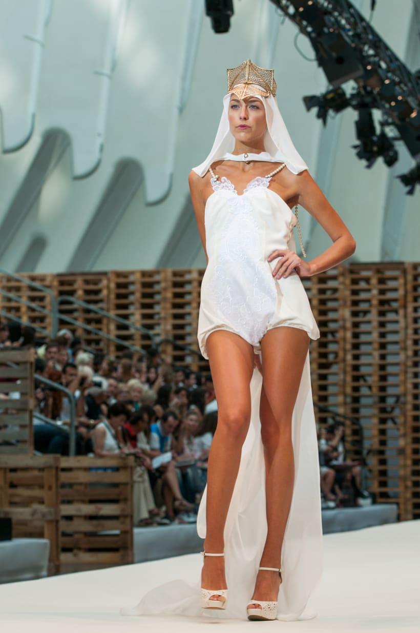 Moda. Valencia Fashion Week. 2